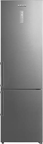 Edesa | Frigorífico Combi | Modelo EFC-2033 DNF EX | Refrigerador Capacidad de 321 litros | Tecnología DUAL No Frost | Eficiencia Energética D | Acabado en Acero Inoxidable
