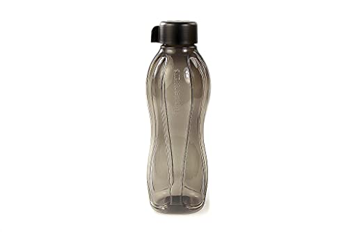 Tupperware Bottela Ecológica con Click Tapa de 1,0 L Negro 36345