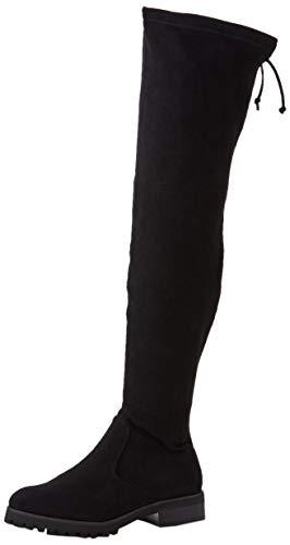Buffalo Damen Flory Overknees, Schwarz (Black 001), 40 EU