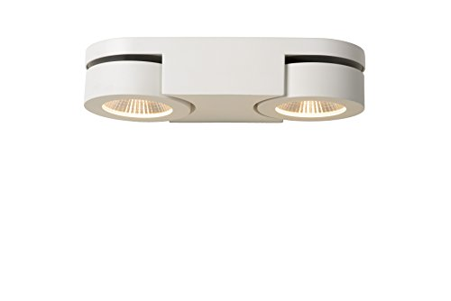 Lucide MITRAX - Wandstrahler - LED Dim. - 2x5W 3000K - Weiß