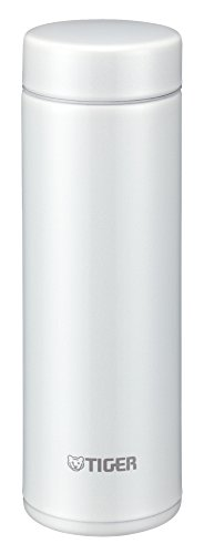 TIGER 水筒 ステンレスミニボトル 「サハラマグ」 軽量 (夢重力) スノーホワイト 0.3L MMP-G031-WW。