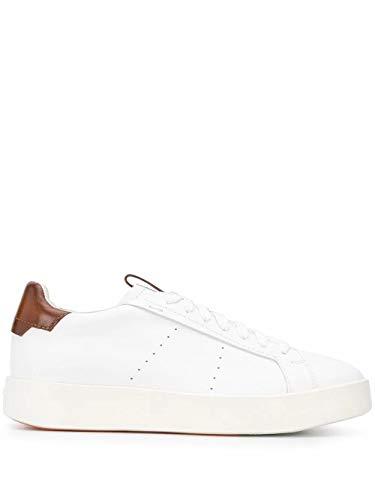 Santoni Luxury Fashion Homme MBWI21303BARXDSPI30 Blanc Cuir Baskets | Printemps-été 20