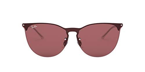 Ray-Ban 0RB3652 Gafas de sol, Rubber Gunmetal, 40 Unisex