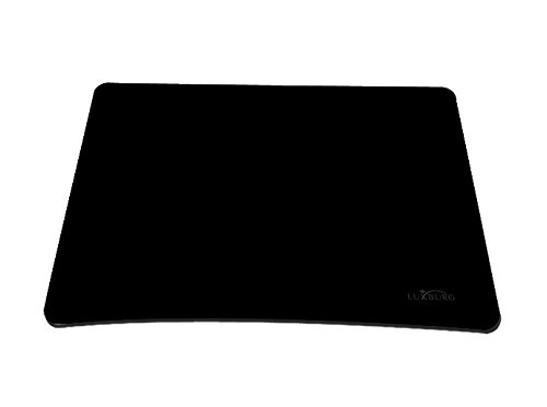 Luxburg® Design Mousepad Mausunterlage Mauspad, Motiv: schwarz