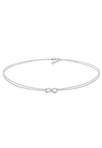 Elli Women's 925 Sterling Silver Collar Necklace 0111180817_36 - 36cm length