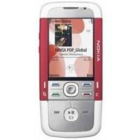 Nokia 5700 - Cellulare (edizione Bravo), colore: Rosso