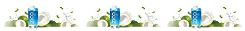 ZICO Natural 100% Coconut Water Drink, No Sugar Added Gluten Free, 11.2 fl oz, 12 Pack (Sеt оf Тhrее)