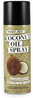 Trader Joe's Coconut Oil Non Stick Cooking Spray- Pack Of 2
