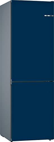 Bosch KVN39INEA Serie 4 VarioStyle Frigorífico independiente/E / 203 cm / 238 kWh/año/Puerta frontal intercambiable azul nacarado / 279 L / 89 L congelador/NoFrost/VitaFresh