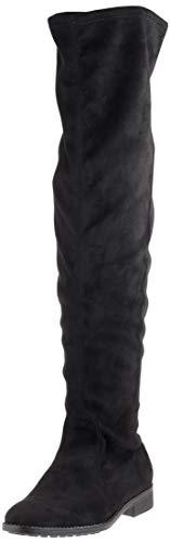 ESPRIT Damen Stevy Overknees, Schwarz (Black 001), 39 EU