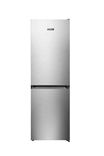 Slim 24in Bottom Large Freezer E-Star Refrigerator 11cf Stainless with Wine Rack