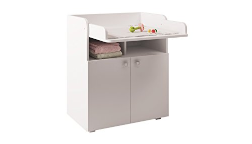 Kidsaw Changing Board Table Unit with Cupboard Storage