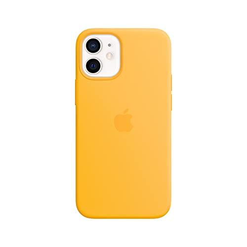 Apple Custodia MagSafe inSilicone (per iPhone 12 mini), Giallo Girasole