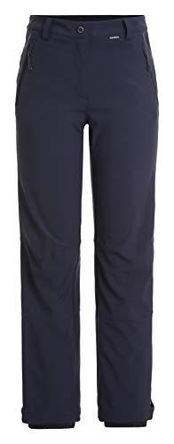 ICEPEAK Damen FRECHEN Softshell Hose, dunkel blau, 36