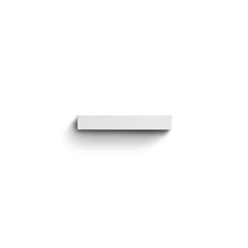 Luminaria de pared doble led, 4000 K, 230V, potencia total 13W, serie Mini-Look applique de emisión doble L, 3,3 x 22 x 8 centímetros, color blanco (Referencia: S.7202N.01)