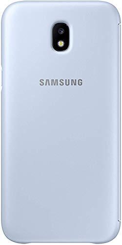 Samsung EF-WJ530CLEGWW Wallet Cover für Galaxy J5 Blau