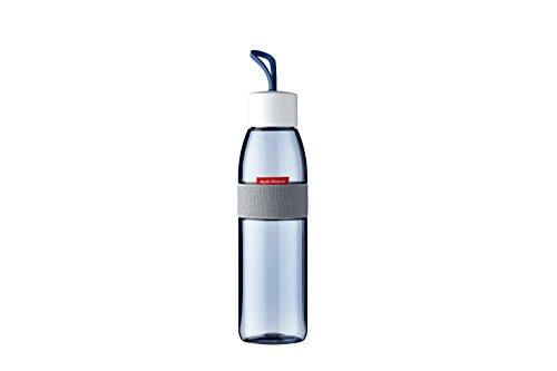 Rosti Mepal drinkfles Ellipse 500 ml, plastic, Nordic Denim, 6,3 x 6,3 x 27 cm