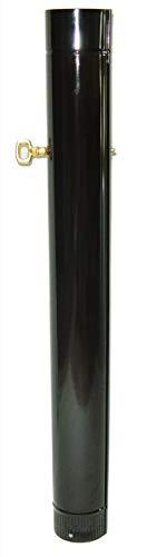 THECA–Tubo liscio con chiave spessore 0,5mm Ø 125mm