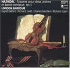 Handel: Sonatas for Two Violins & Basso Continuo, Op. 5
