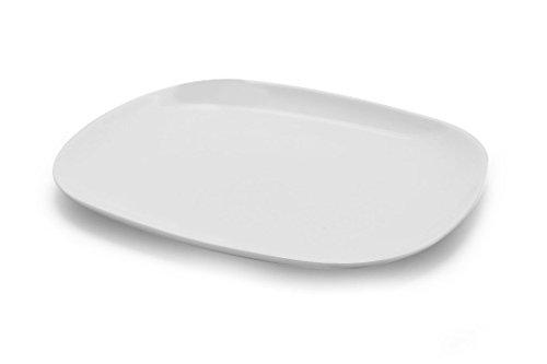 Arcoroc ARC L2804 Solutions Uni Burger Platte, Opalglas, weiß, 6 Stück