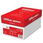 Office Depot(R) Brand White Copy Paper, 20 Lb., 104 Brightness, 8 1/2in. x 11in., Case Of 10 Reams