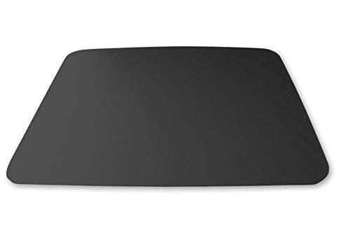 KAISER PLASTIC® Grillmatte | Unterlage | 90 x 120 cm | Schwarz | Made-In-Germany | Für Terrasse - Garten - Balkon | aus PC