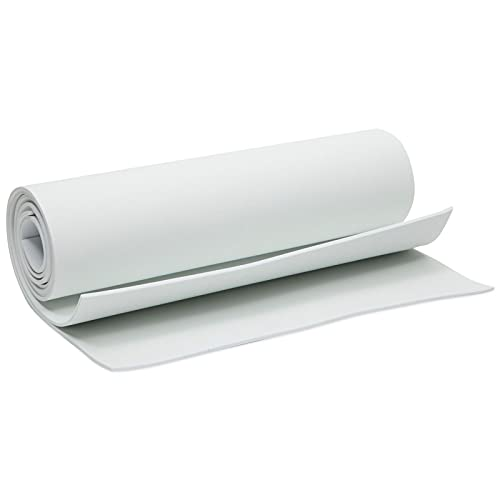 3mm WhiteEVA Foam Sheetsfor Crafts,Cosplay Costumes(13.7 x 39 in, 2 Pack)