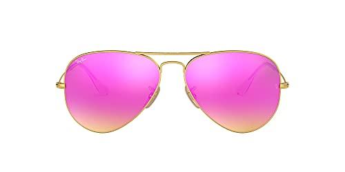 Ray Ban Herren Sonnenbrille RB3025, Mehrfarbig (Gold Dorado), One size (62)