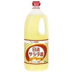 日清オイリオ サラダ油 ペットボトル 1500gx2セット