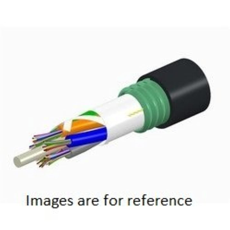 お嬢放散する肝1000フィート COMMSCOPE 760054288 12本 繊維 OM4 レーザー最適化 50ミクロン ジェルフリー ブラック ルーズチューブケーブル