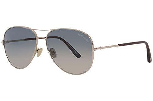 Tom Ford CLARK FT 0823 Rose Gold/Green Shaded 59/14/140 unisex Sunglasses