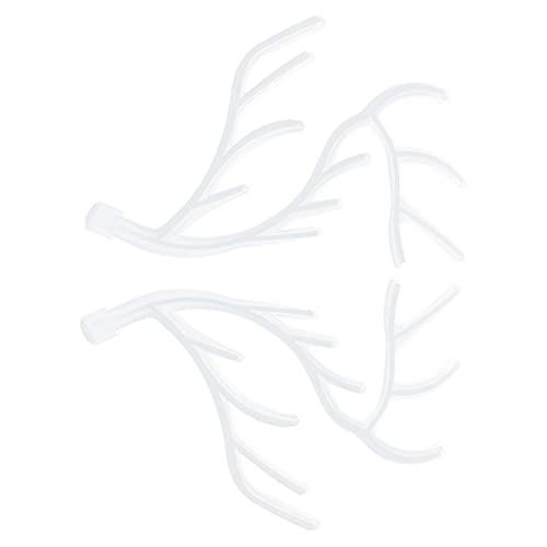 SHYEKYO Soporte De Exhibición, Moldes De Cuerno De Ciervo Fáciles De Desmoldar Flexibles para Bricolaje para Herramienta De Joyería