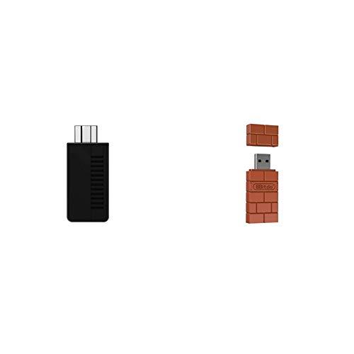 8Bitdo Retro Receiver NESSNES Mini Wireless Bluetooth Adapter for WindowsMacRaspberry PiSwitch
