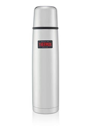 Thermos Edelstahl-Thermosflasche 1,0 l, leicht und kompakt