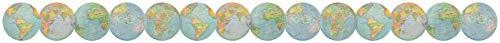 Teacher Created Resources Travel The Map Globes Die-Cut Border Trim Photo #2