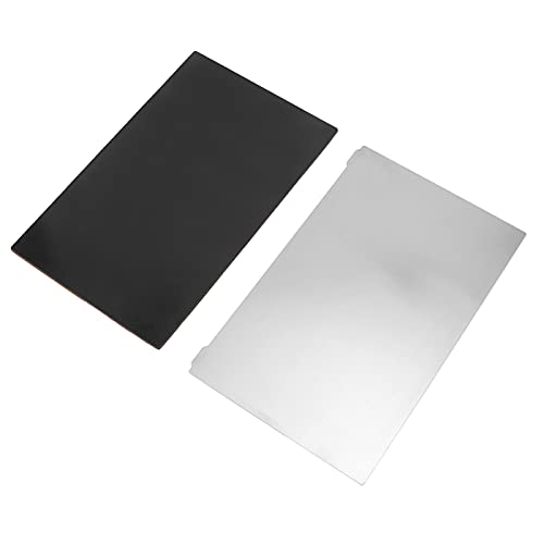 Spring Steel Plate, Sheet 3D 3D Printer Accessories Widely Used Magnetic Sticker Photocuring Steel Plate Easy Use Good Durability 192x120mm for Repair Tool