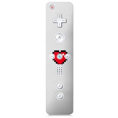 DeinDesign Skin kompatibel mit Nintendo Wii Controller Folie Sticker Emoji