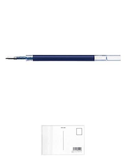 ゼブラ ボールペン用替芯JF-0.4芯ブルーブラック10本 + 画材屋ドットコム ポストカードA