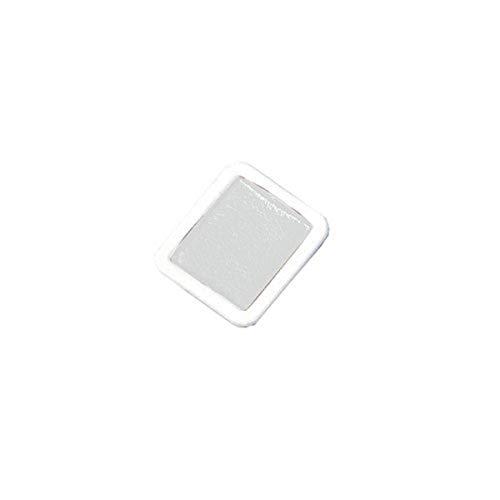 PRANG Refill Pans for Half Pan Watercolor Paint Sets, 12 Pans per Box, White (08009)