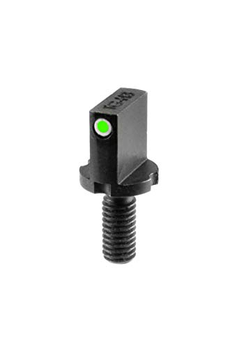 TRUGLO Tritium Front Sight Replacement Front Sight Post, TG231AR1,Black