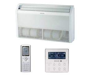 Klimagerät DC Inverter Wand-Bodentruhe Multi System Baureihe 2,5 kW
