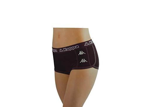 Kappa K2170 Culotte de sport pour femme - Noir - Large-X-Large