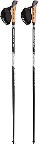 Swix CT2 Paire de bâtons de marche nordique avec pointe Just Go Sport Noir 110 cm