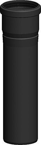Schornstein Längenelement aus Kunststoff PPS mit 560mm Länge und Ø80 Durchmesser