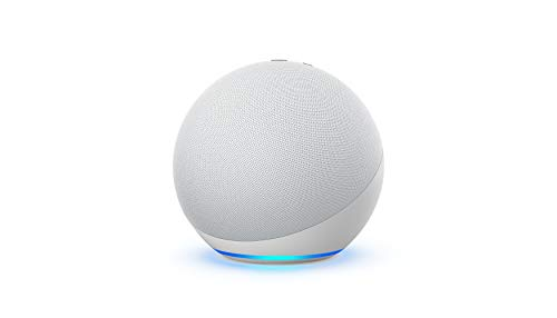 2- Pack All-new Echo (4th Gen) | With premium sound, smart home hub, and Alexa | Glacier White