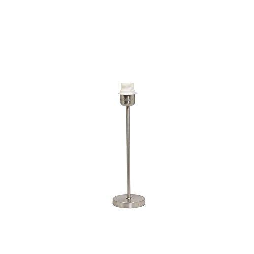 Ambia Home Leuchtenfuß, Silber, 34 cm, Metall