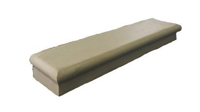 NuCast Precast Concrete 7' Rise Stackable Porch Step (3' Wide 7' Rise)