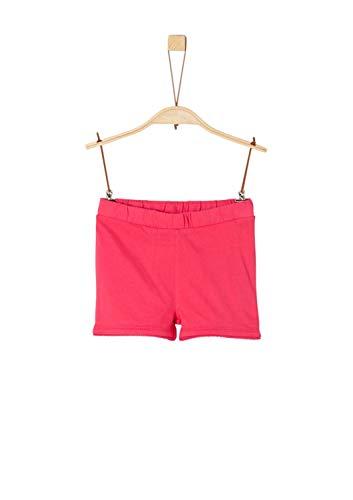 s.Oliver Mädchen 58.906.75.4983 Shorts, Rosa (Red 4517), 122 (Herstellergröße: 122/REG)