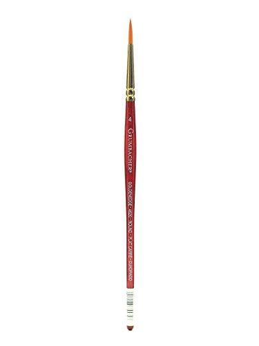 Grumbacher Goldenedge Watercolor Brushes 4 Round [Pack of 3 ]