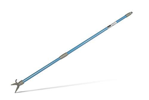 Linea Più 0038A Bügelgreifer für Schrank, lackiertes Metall, ausziehbar, 150 cm